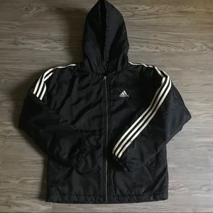 Vintage Adidas Full Zip Insulated Big Logo Jacket